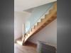 escalier en bois et garde-corps en verre 1a
