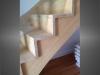 escalier en bois et garde-corps en verre 1b