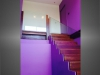 escalier marches bois garde-corps verre et bois vue 3