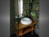 meuble vasque en bois salle de bain